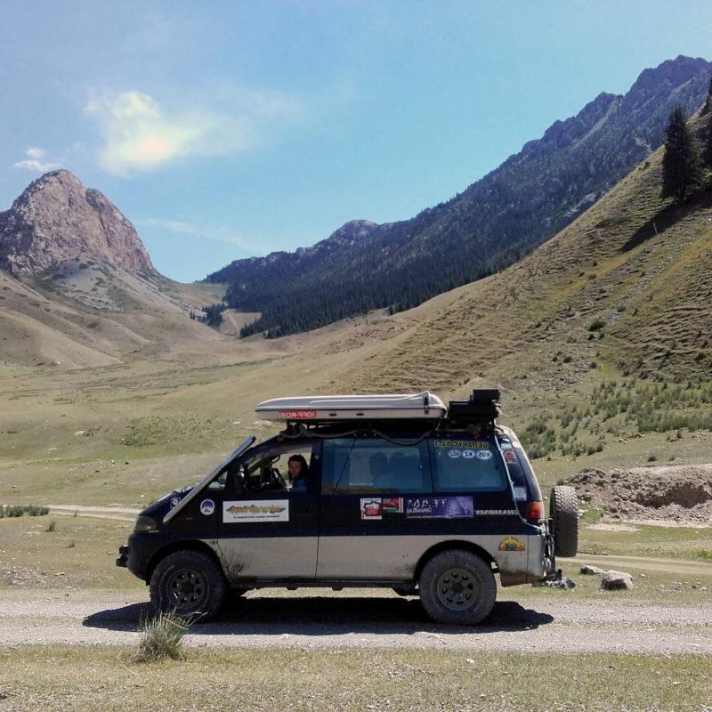Kirgistan Turystyka 4x4