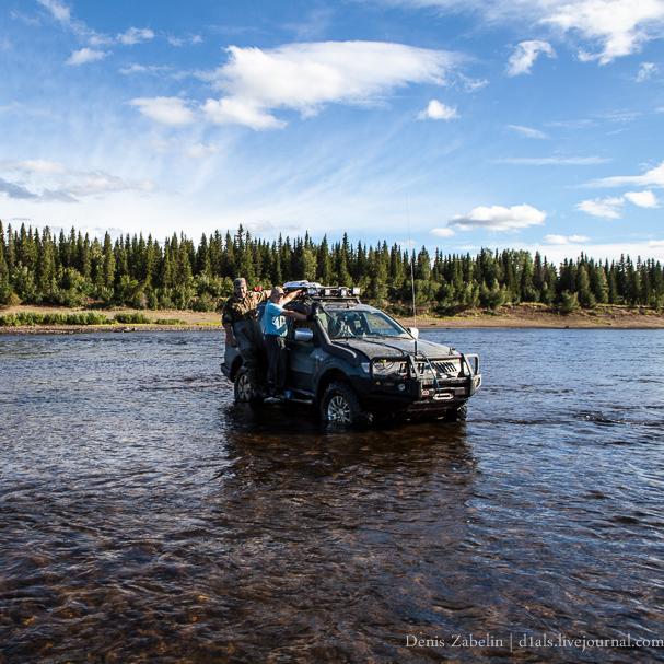 przejazd przez rzekę