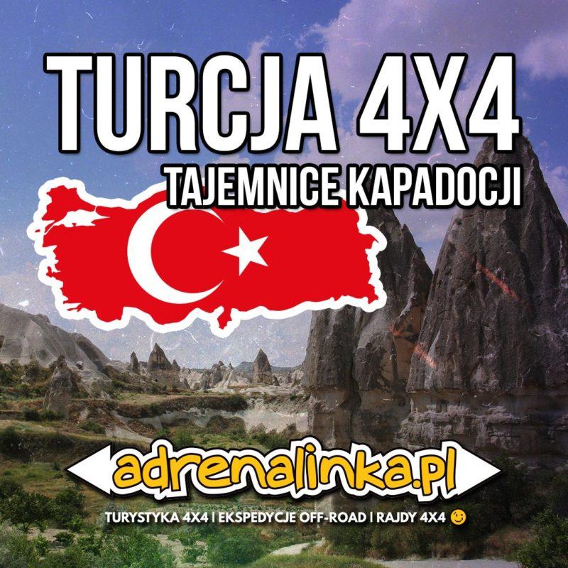 Turcja wyprawa 4x4